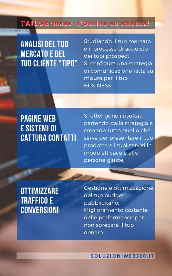 tailor made soluzioni web